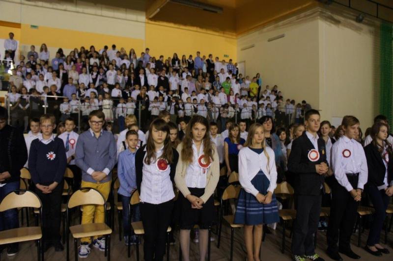 Święto Niepodległości – Świętem Zespołu Szkół wMiękini