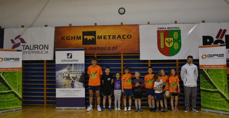 Turniej Tenisa Stołowego wGłosce