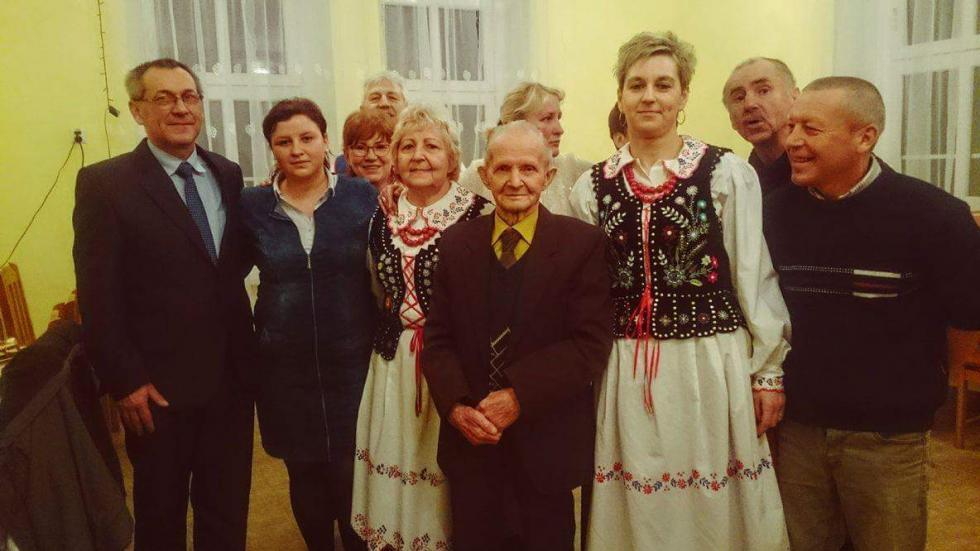 Dziadkowie świętowali wRóżanie