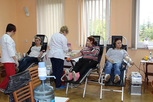 Gmina Udanin oddaje krew!