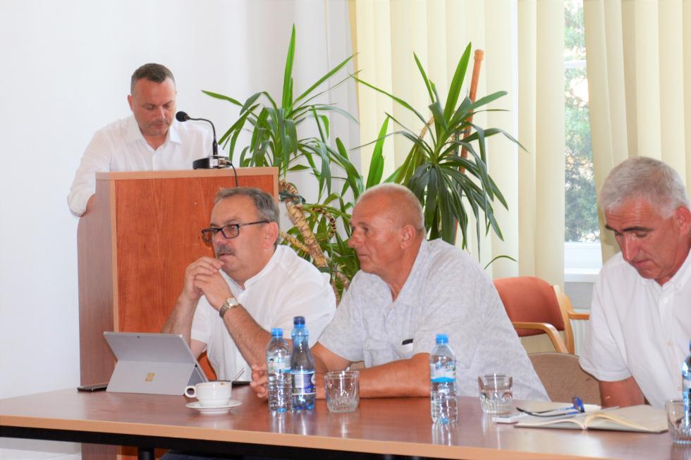 35. sesja Rady Powiatu - obrady zdominował temat szpitala