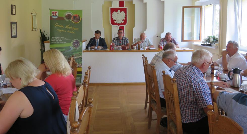 Absolutorium dla wójta gminy Malczyce