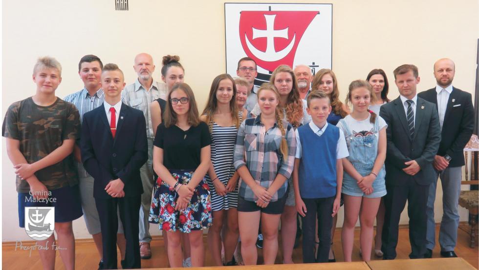 Młodzieżowa Rada Gminy Malczyce już działa - wybrali swoje prezydium