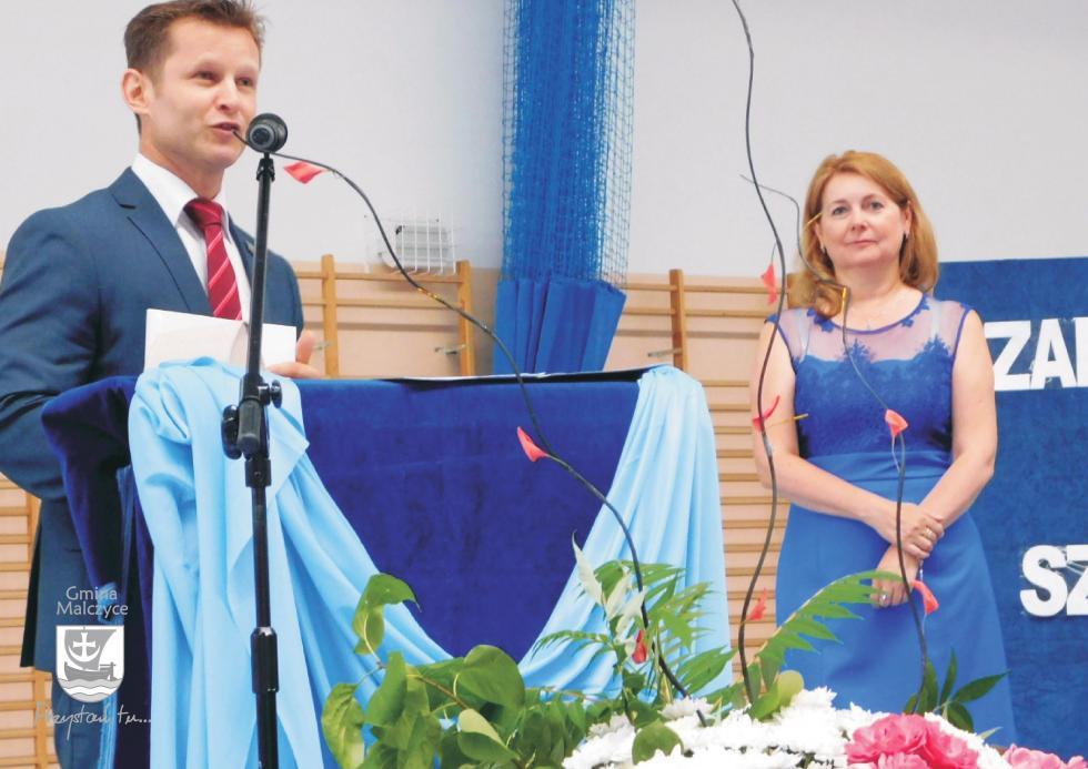 Czas na wakacje – zakończenie roku szkolnego wszkole podstawowej wMalczycach