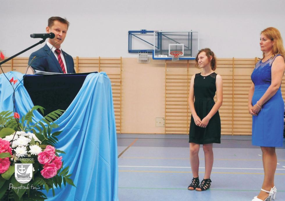Uczniowie otrzymali nagrody Wójta Gminy Malczyce