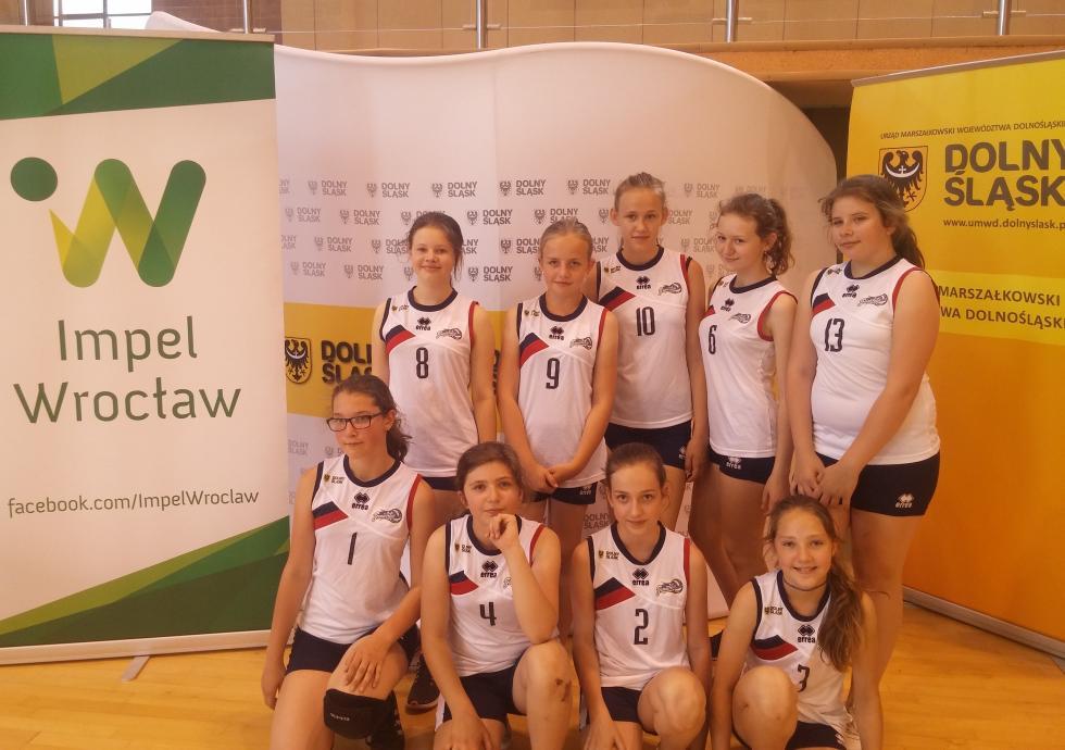 """Zawodniczki """"Volleymania"""" zMalczyc na Turnieju Piłki Siatkowej Dziewcząt"""