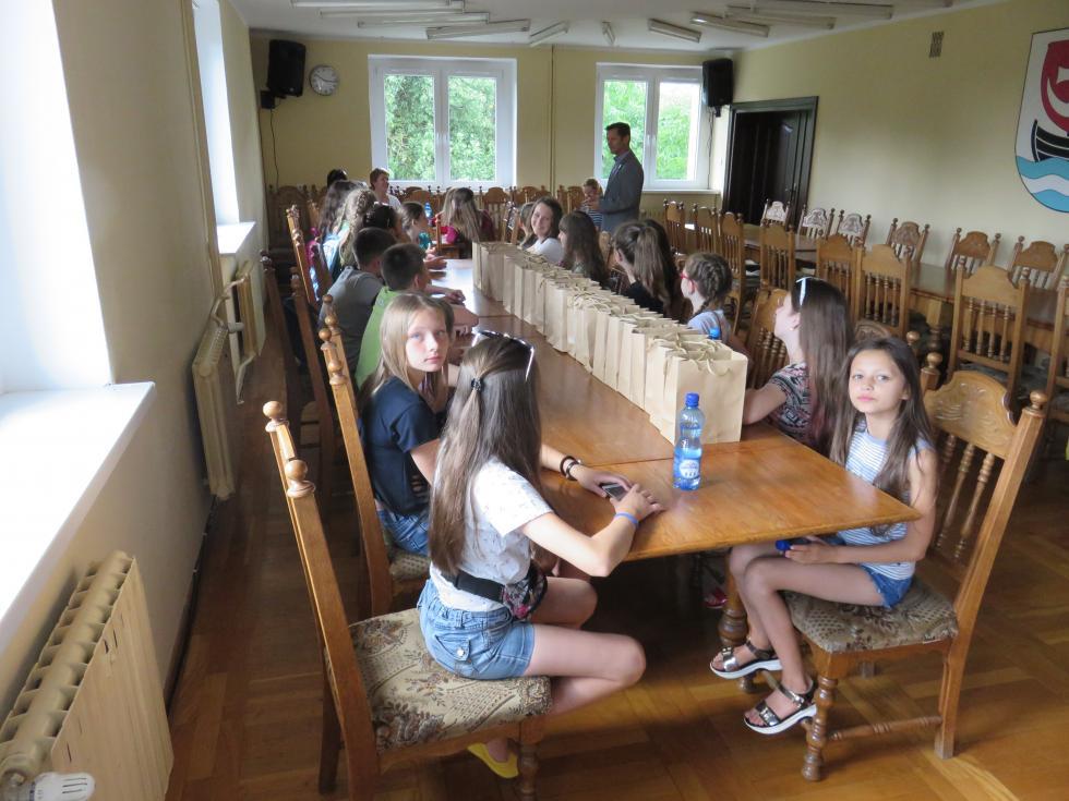Wizyta dzieci zUkrainy wMalczycach