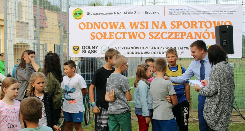 Odnowa wsi Szczepanów na sportowo