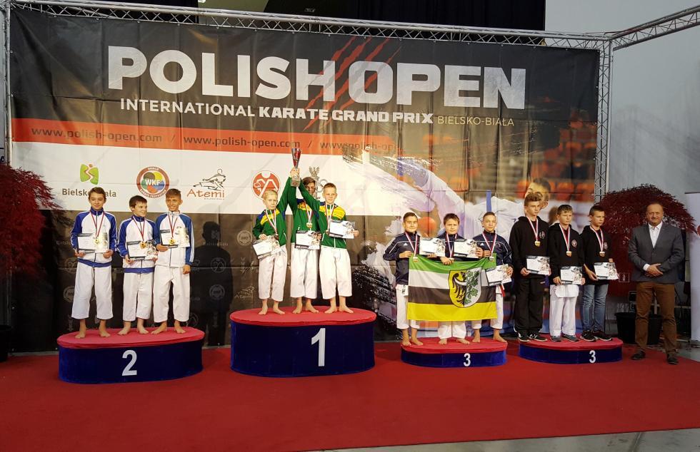 2 brązy karateków wBielsku Białej