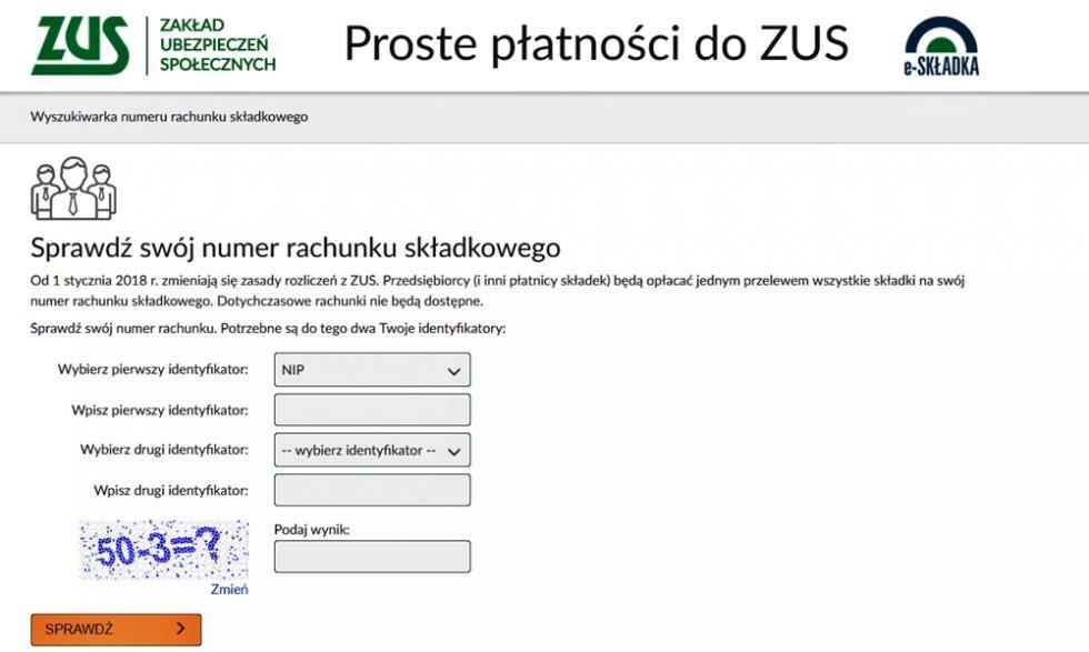 ZUS ostrzega przed fałszywymi listami znumerami kont rozsyłanymi doklientów