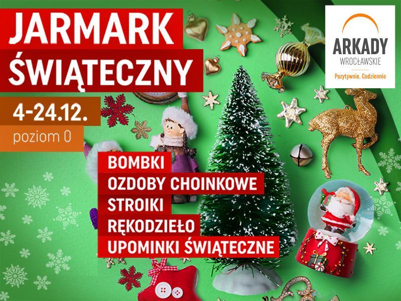 Jarmark Świąteczny wArkadach Wrocławskich