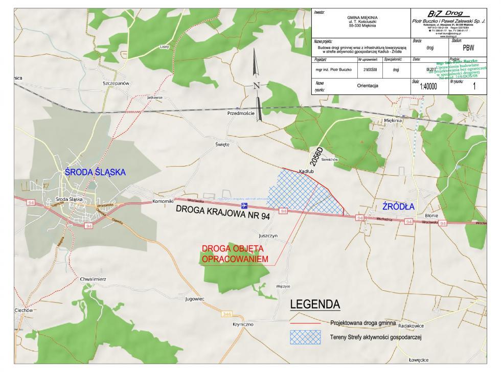 Umowa na dofinansowanie budowy drogi Kadłub – Źródła podpisana