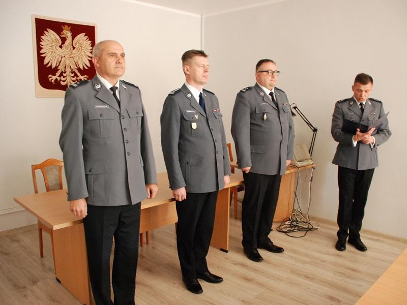 Uroczyste wprowadzenie Izastępcy komendanta powiatowego policji