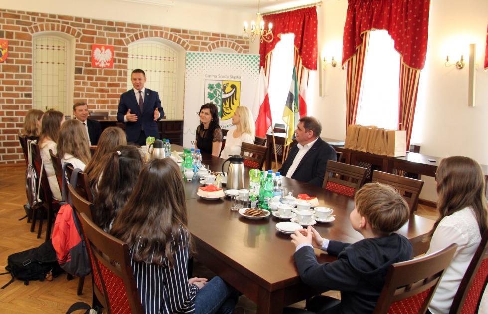 Laureaci ze Szczepanowa nagrodzeni przez Gminę