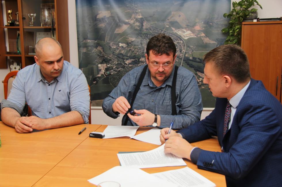 Skrzyżowanie DK 94 zul. Wiejską – projekt dopołowy września