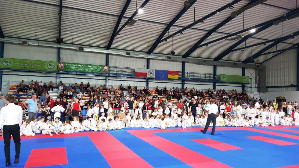 19 medali karateków weWrocławiu