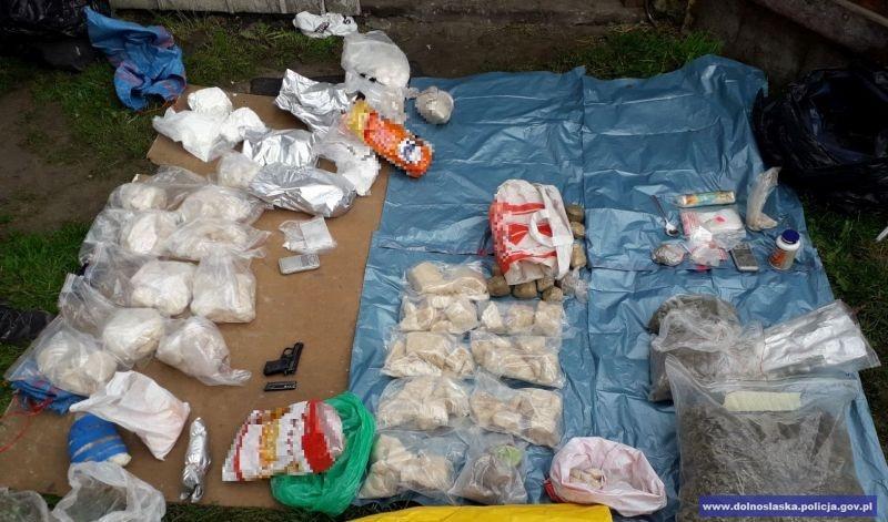 40 kg narkotyków owartości około 2,2 mln zł