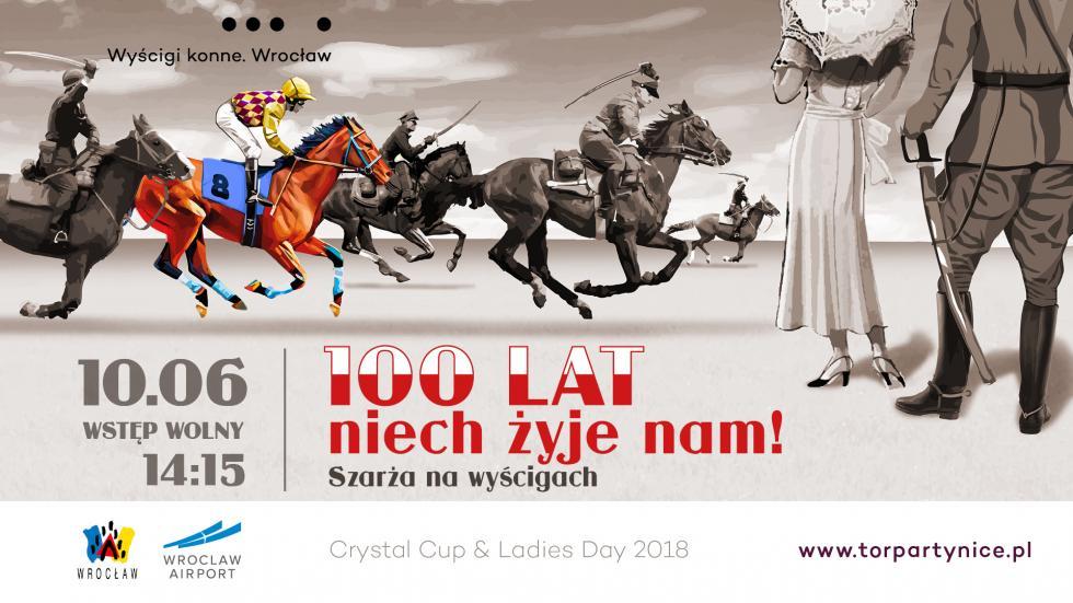 Szarża ułańska, Crystal Cup iLadies Day – 100 lat niepodległości na Partynicach