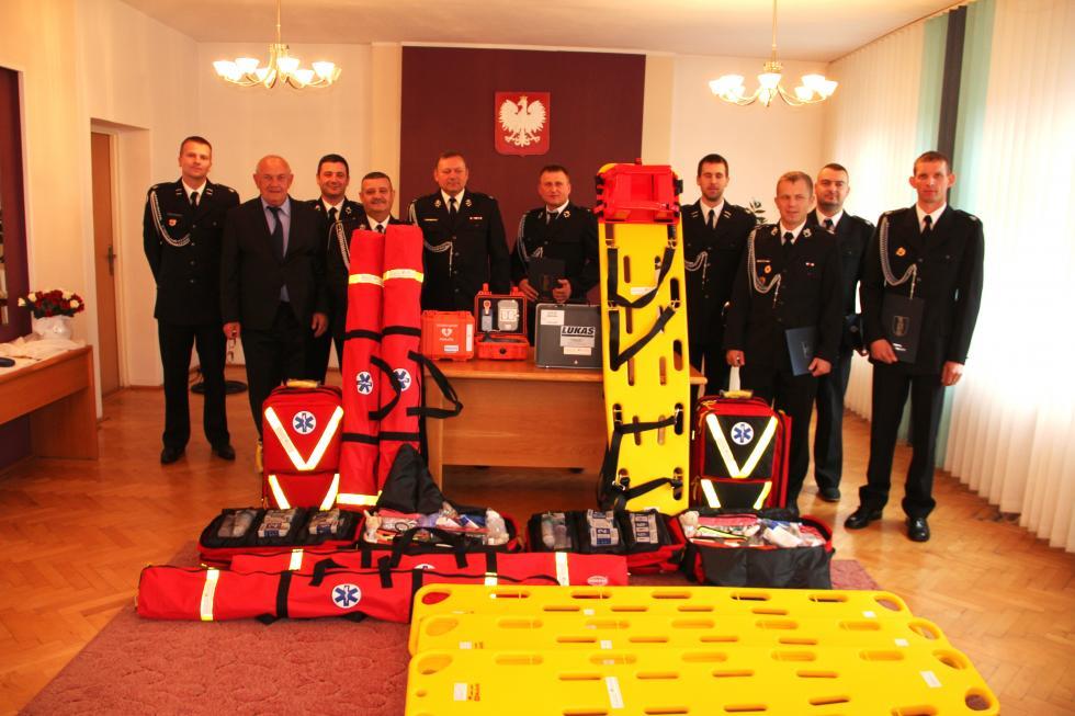 Sprzęt ratowniczy dla strażaków