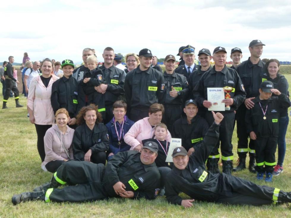 Rywalizacja strażaków ochotników