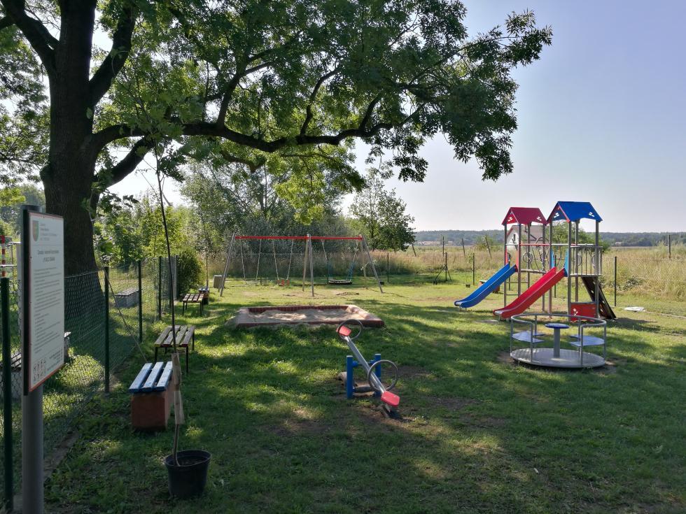 Nowe miejsca rekreacji wgminie Miękinia, wKrainie Łęgów Odrzańskich