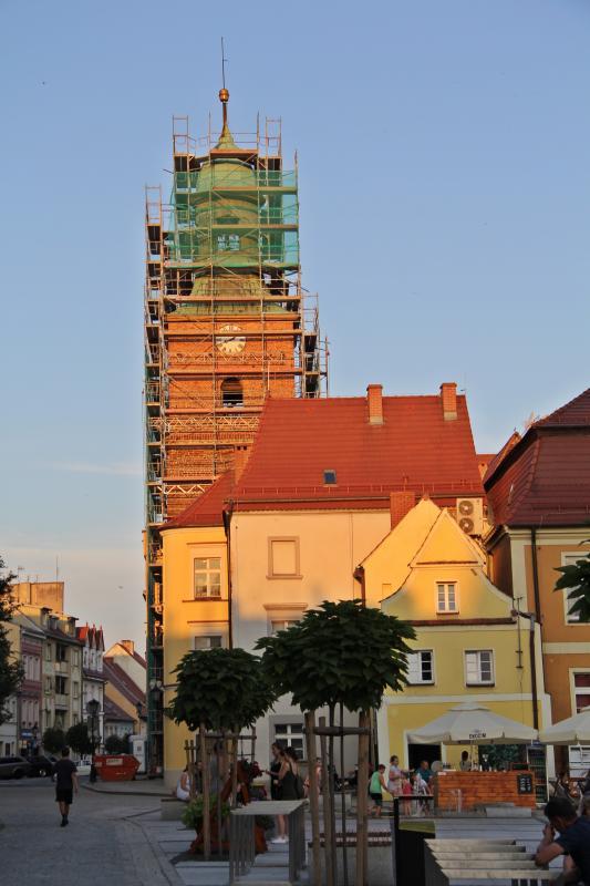 Remont wieży ratusza. Pierwszy od40 lat