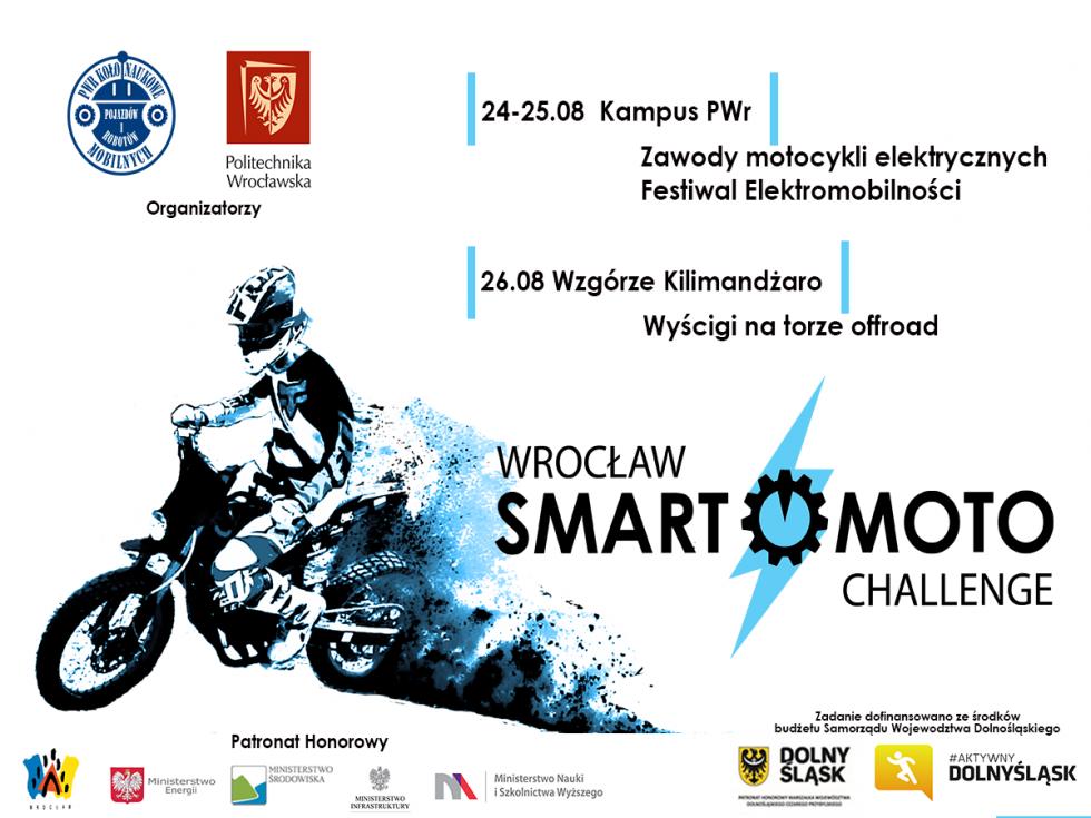 Zawody SmartMoto Challenge po raz pierwszy wPolsce