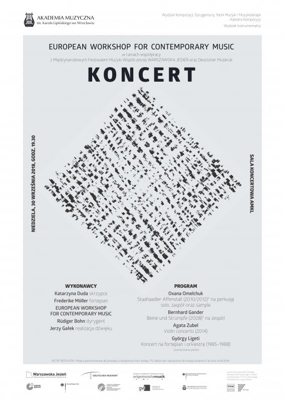 Koncert w ramach XVI edycji European Workshop for Contemporary Music
