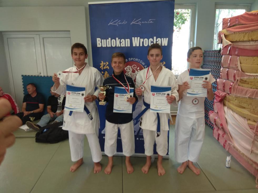 Medalowa   sobota  naszych karateków