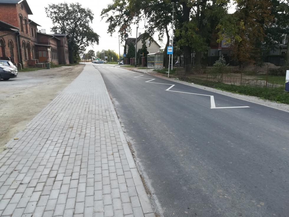 Kolejne przebudowane drogi wgminie Miękinia
