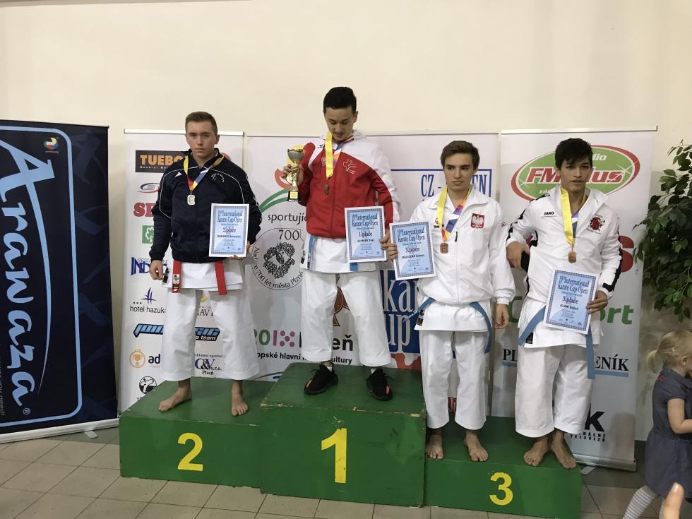Babiński drugi wGrand Prix Czech