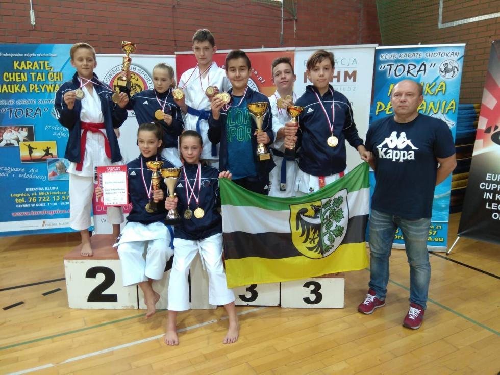 11 medali karateków wPucharze Polski