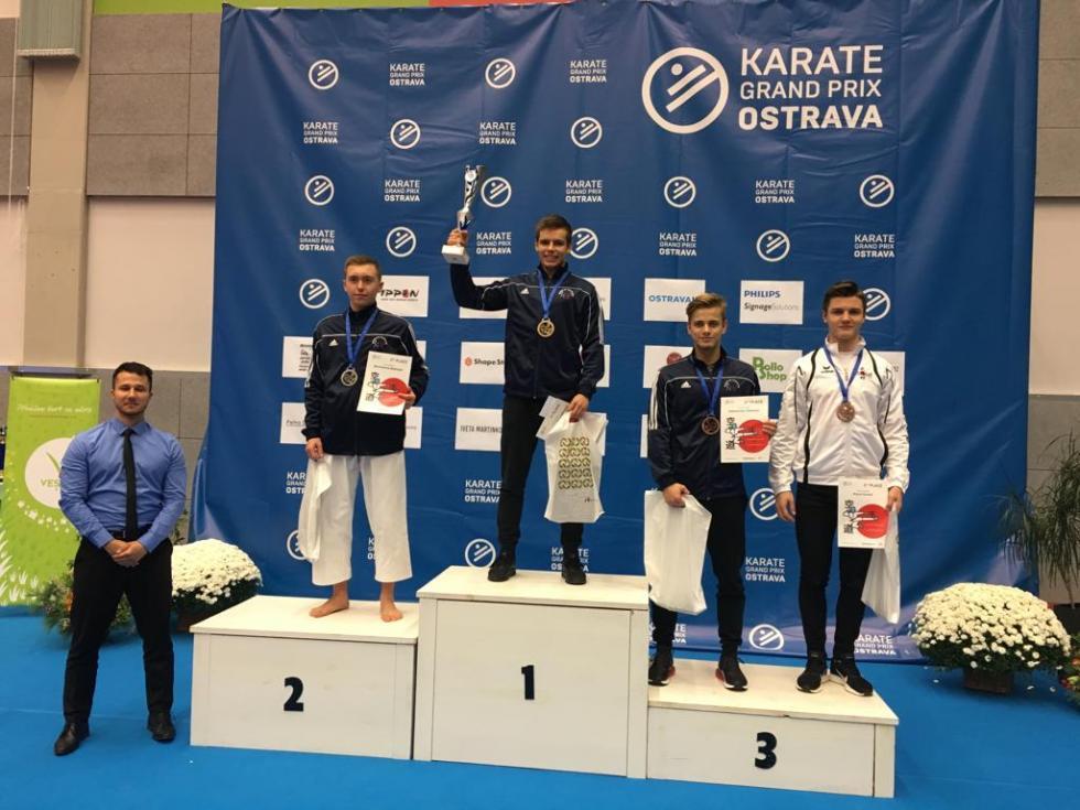 2  srebra Babińskiego wGrand Prix Ostrawa 2018