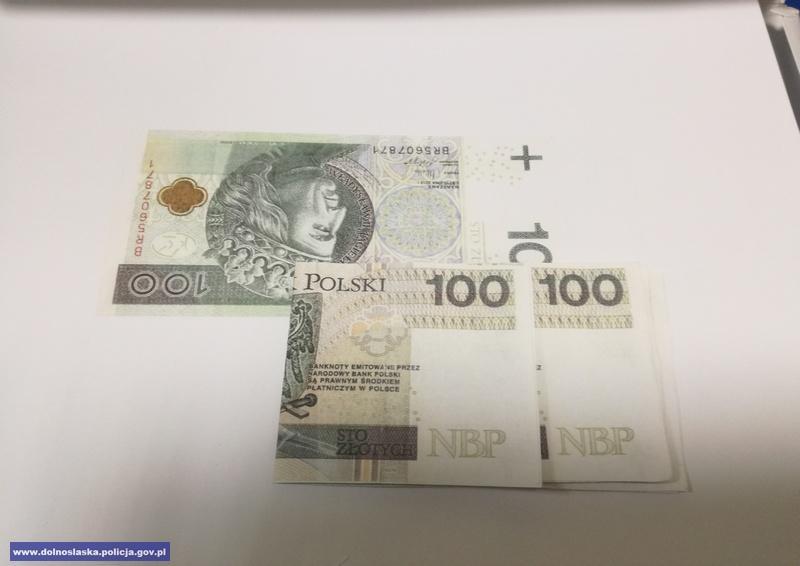 Zamówili sfałszowane banknoty
