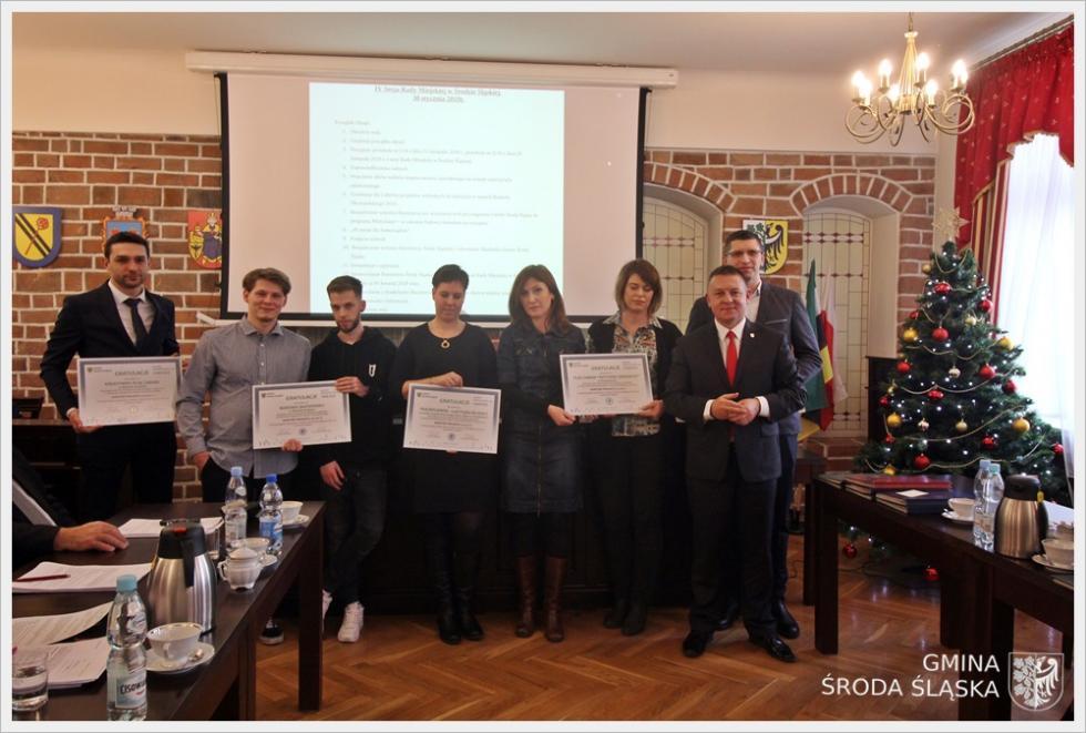 Gratulacje dla inicjatorów projektów BO
