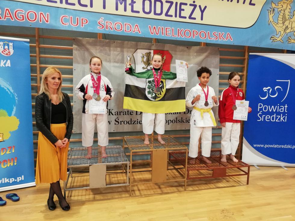 Medalowy weekend średzkich karateków