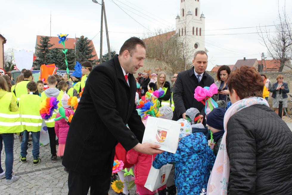 Wizyta wojewody dolnośląskiego Pawła Hreniaka  wgminie Udanin