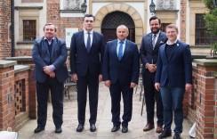 Ambasador Gruzji wPolsce zwizytą wgminie Miękinia
