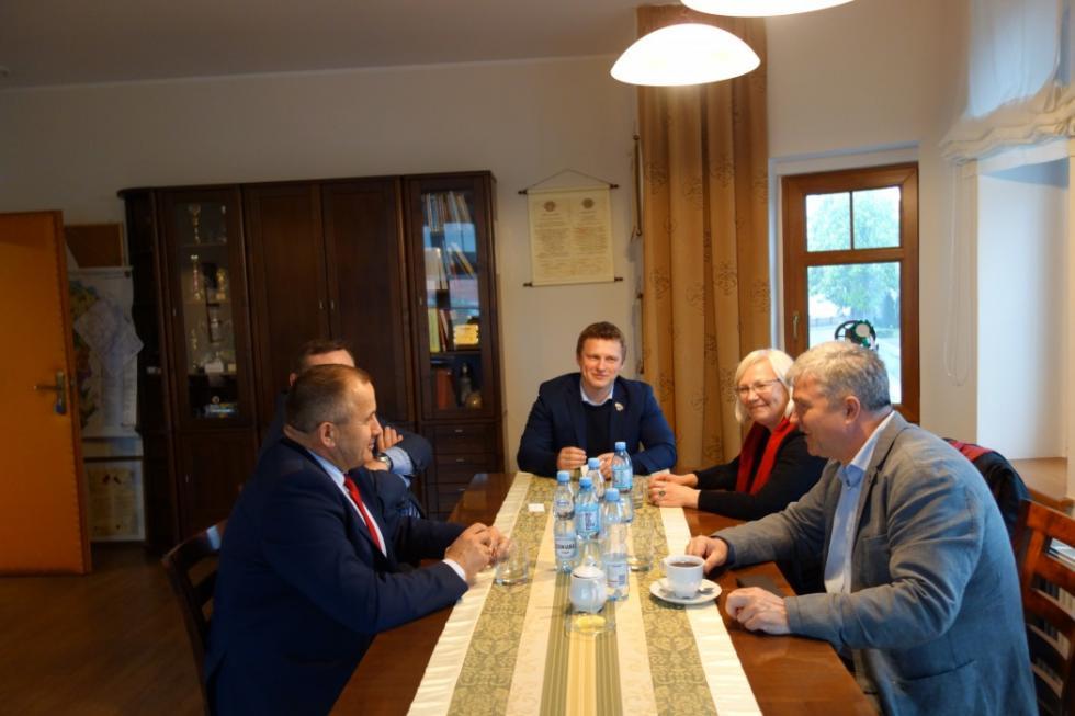 Ambasador Litwy odwiedził Miękinię