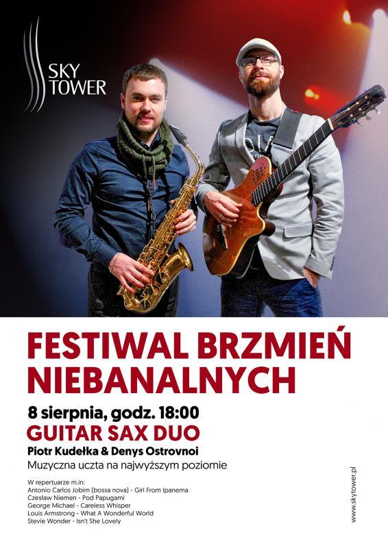 Sky Tower: Jazzowe interpretacje zespołu Guitar Sax Duo