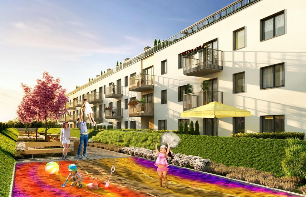 Nowy projekt mieszkaniowy weWrocławiu