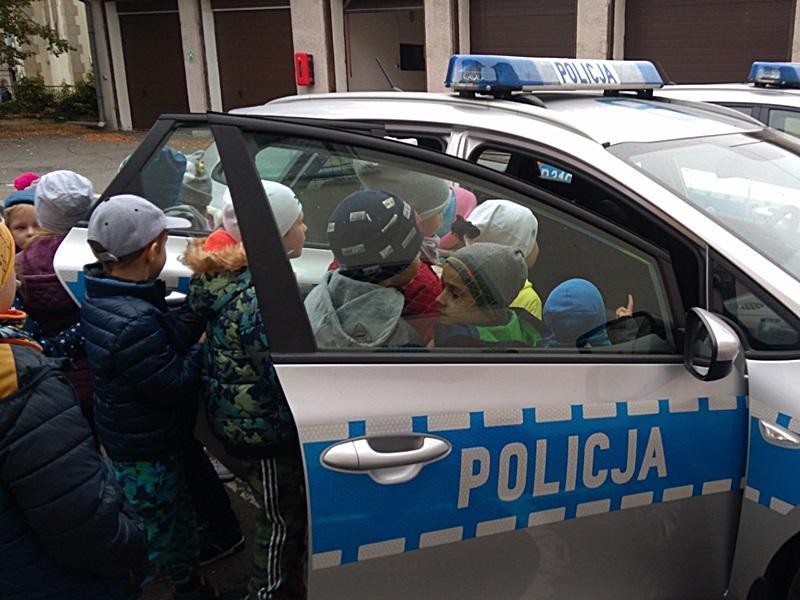 Działania prewencyjne średzkich policjantów wtrosce obezpieczeństwo najmłodszych