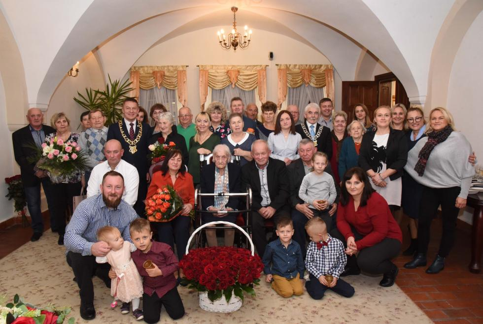 100 urodziny Pani Heleny Gdakowicz