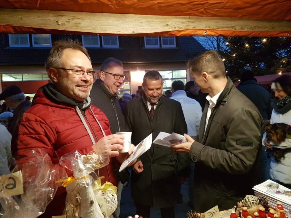Jarmark Bożonarodzeniowy wGroßharthau