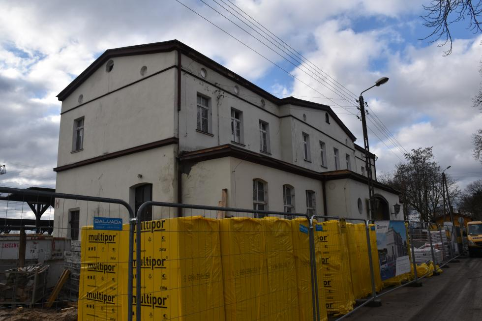 Prace remontowe dworca wMalczycach trwają
