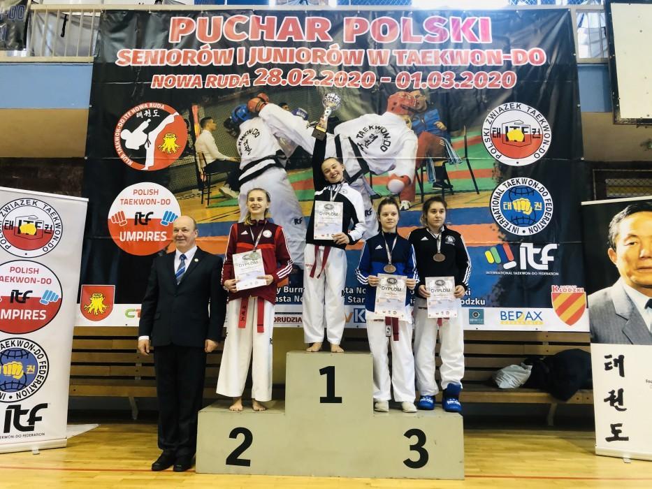 Puchar Polski wTaekwon-do ITF dla Hanny Burzańskiej