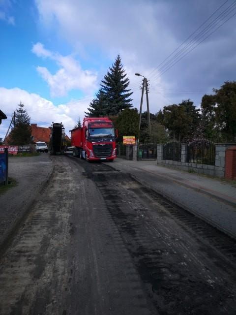 Przebudowa drogi Miękinia-Klęka