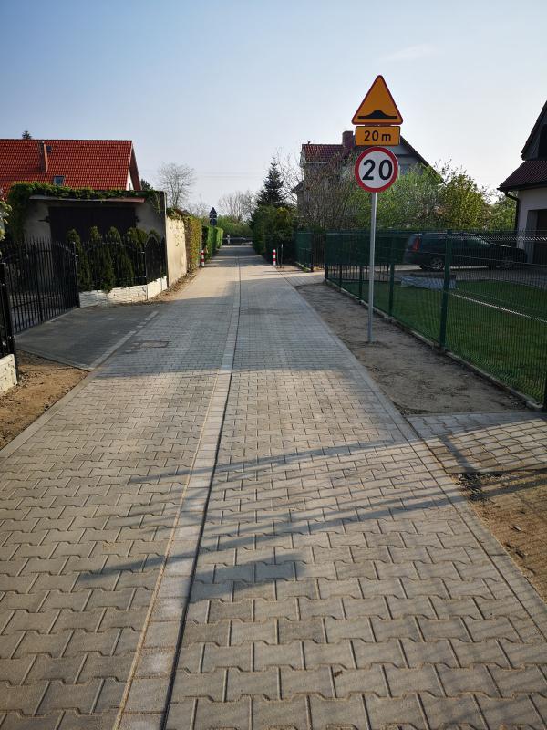 Łącznik ulic Marszowickiej iPolnej gotowy