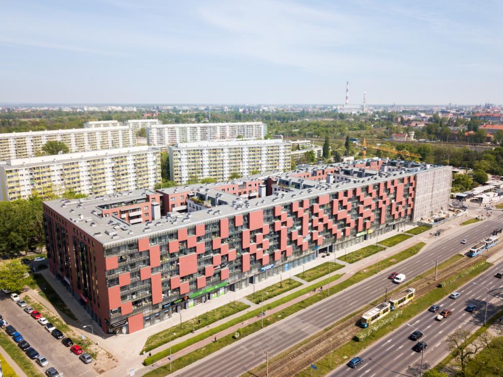 Wrocław: elewacja ostatniego etapu Pixel House odsłonięta