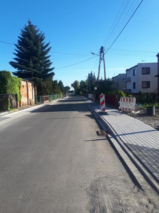 Ulica Willowa wMiękini na ukończeniu